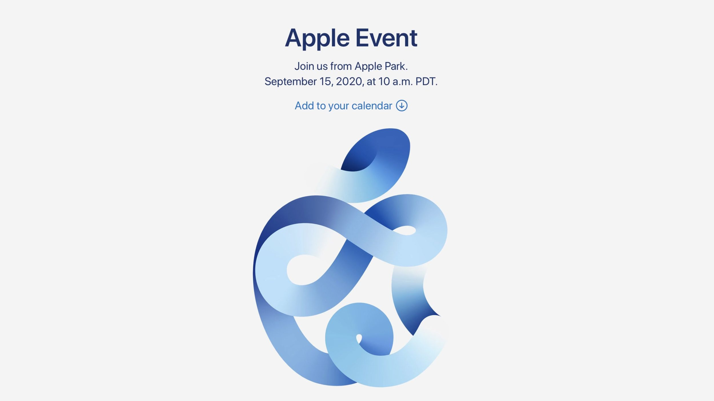 Apple 's September 15 Event: Details!