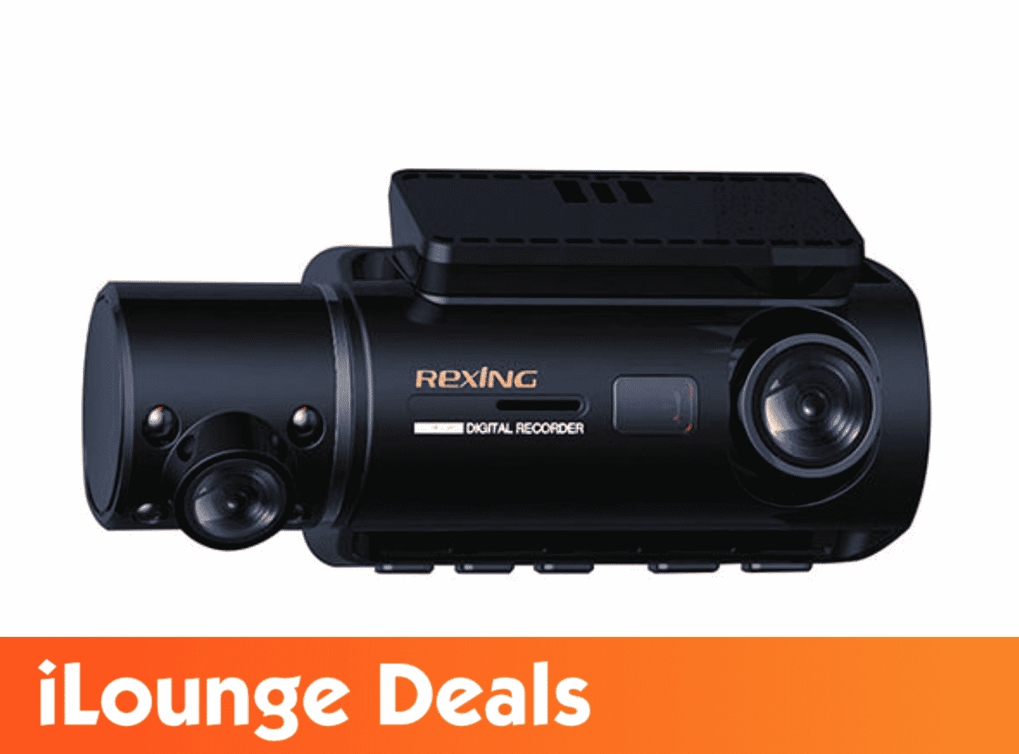 Rexing® V3 Dual Full HD WiFi Dash Cam