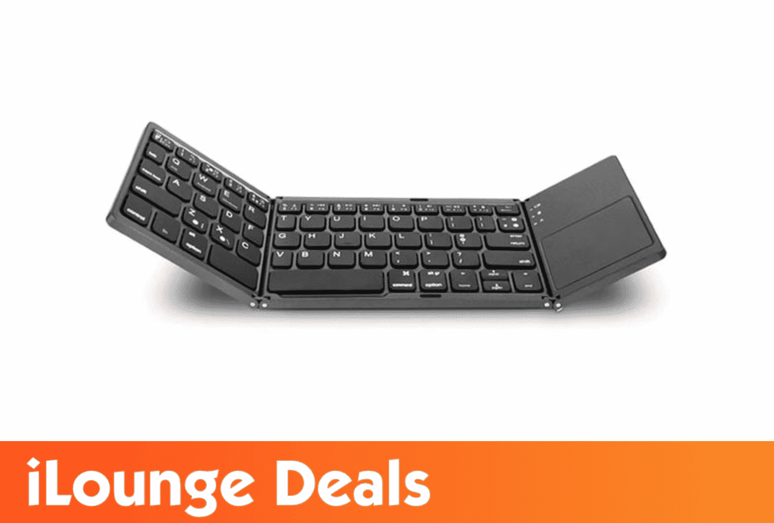 Universal Mini Foldable Wireless Keyboard with Touchpad deal by iLounge