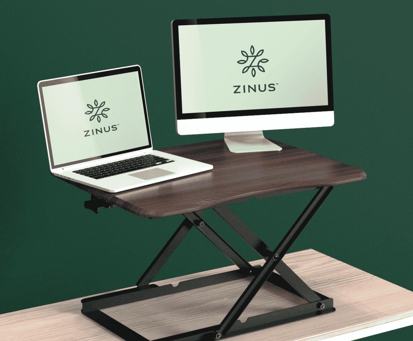 Zinus Molly Smart Adjust Standing Desk