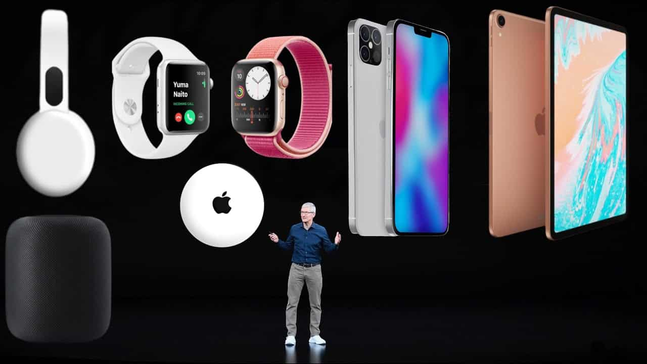 iPhone 12, Apple Watch Series 6, and iPad