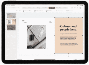 Microsoft Office Apps on iPad