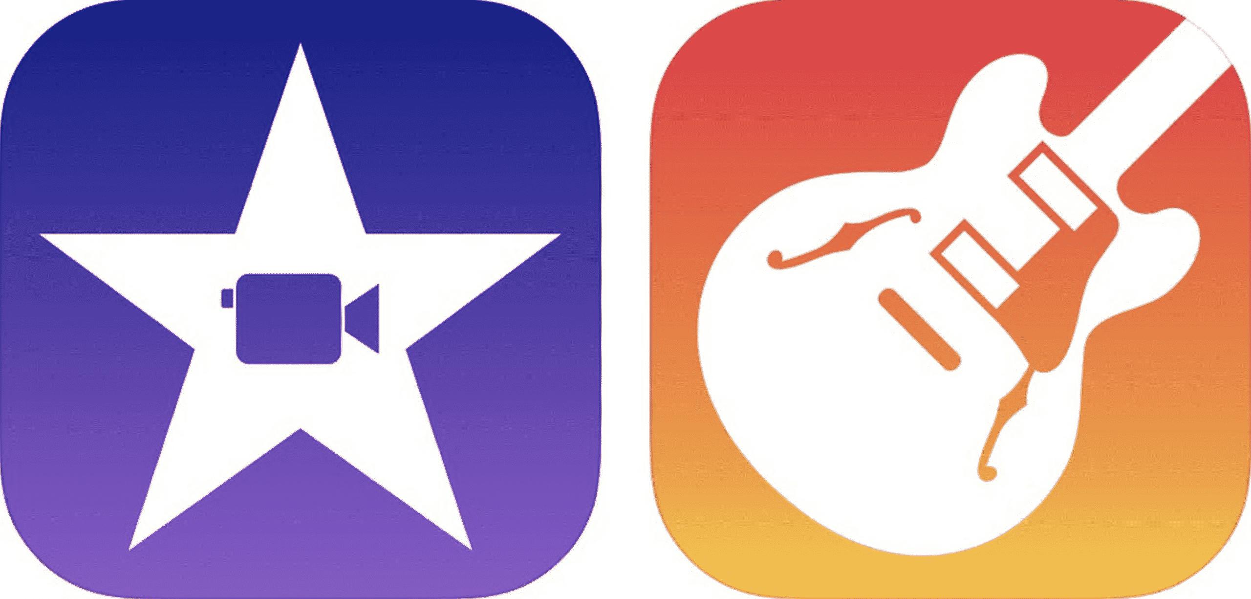 iOS GarageBand App, iMovie