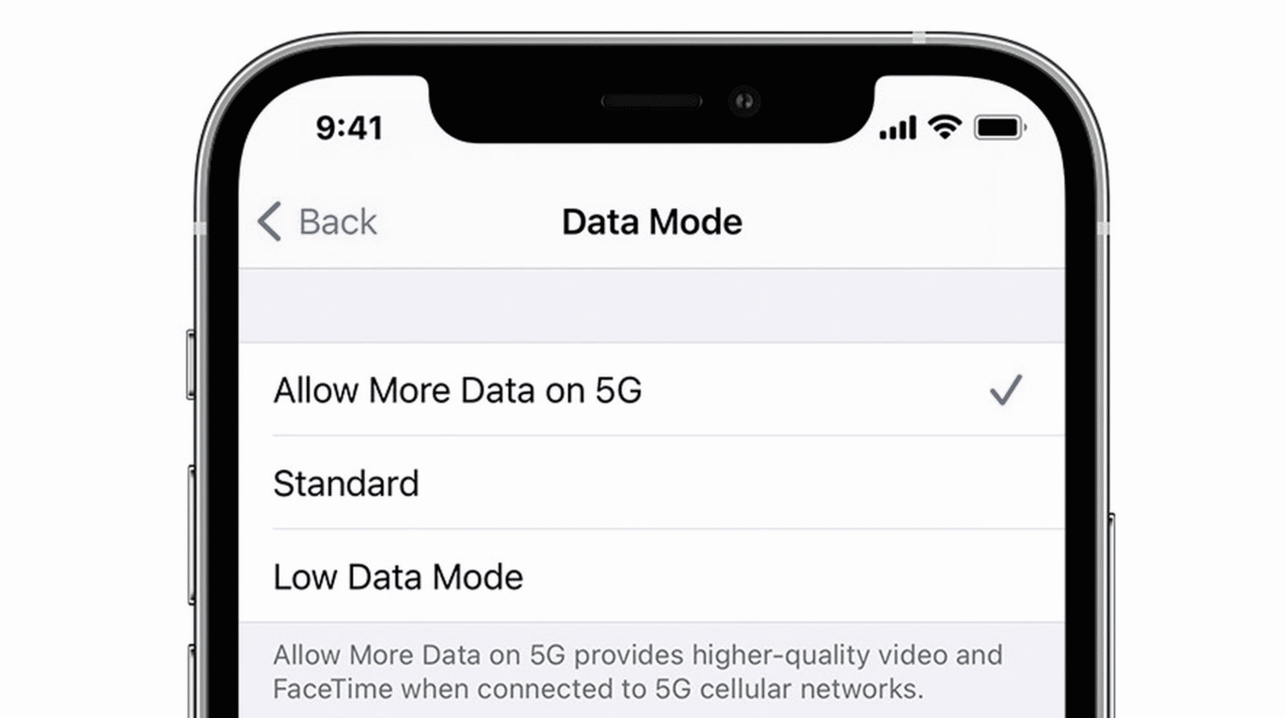 iPhone 12 iOS updates on 5G