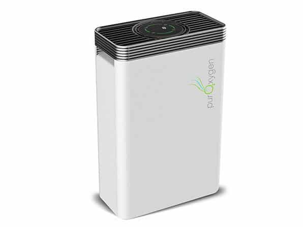 PurOxygen P500 Air Purifier in close up