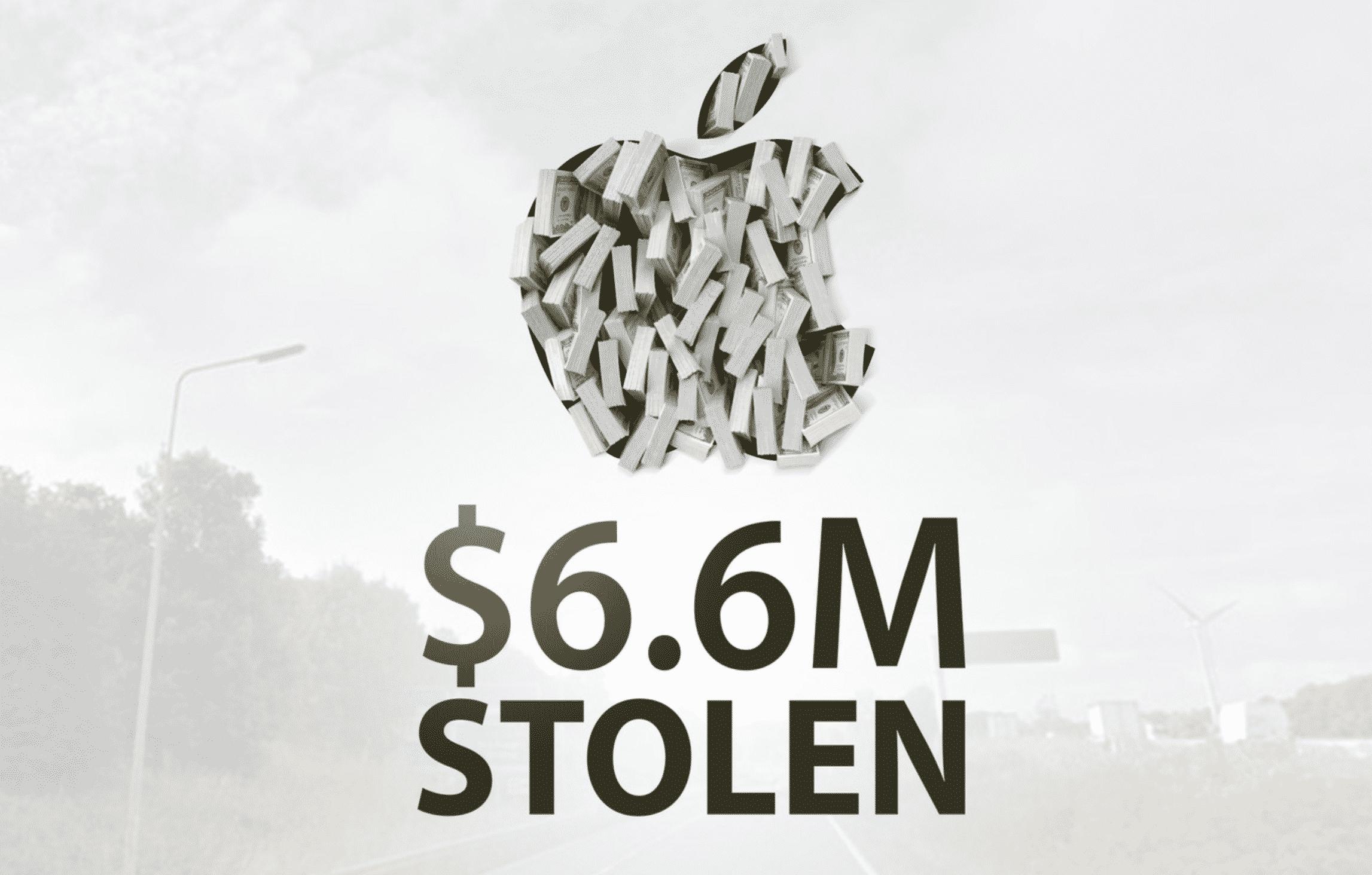 Apple Goods Stolen