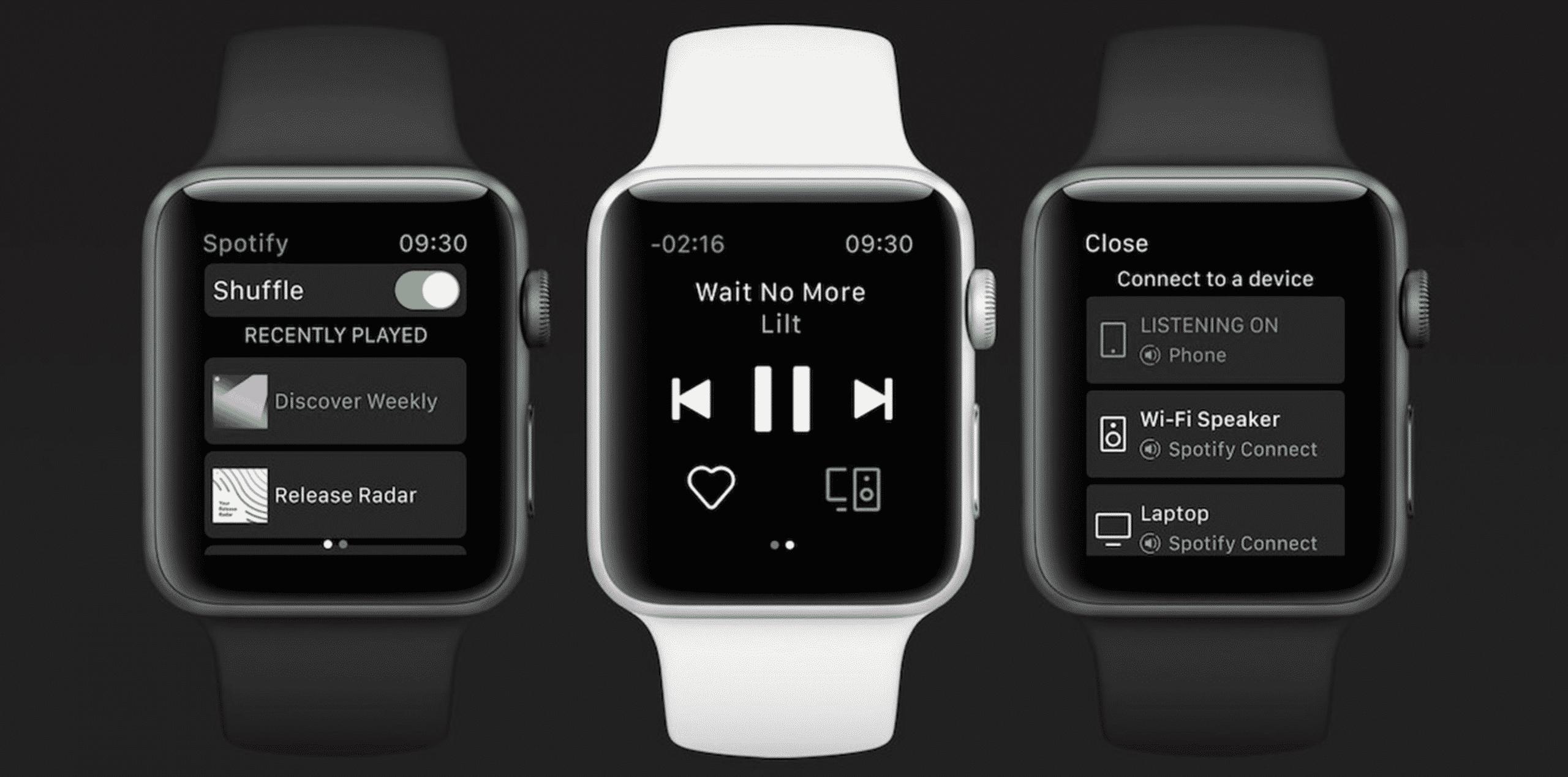 Spotify on Apple Watch