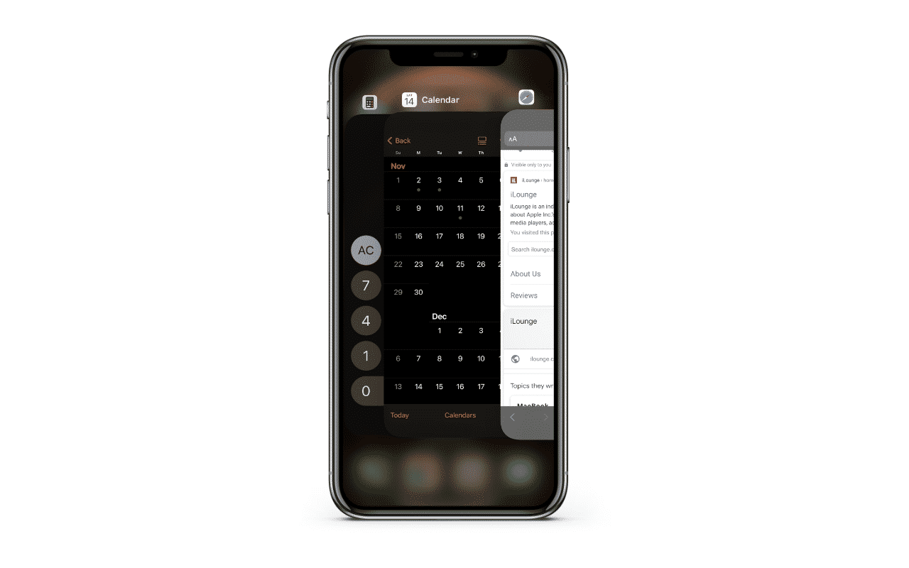 Closing Apps on the iPhone 12 Pro Max