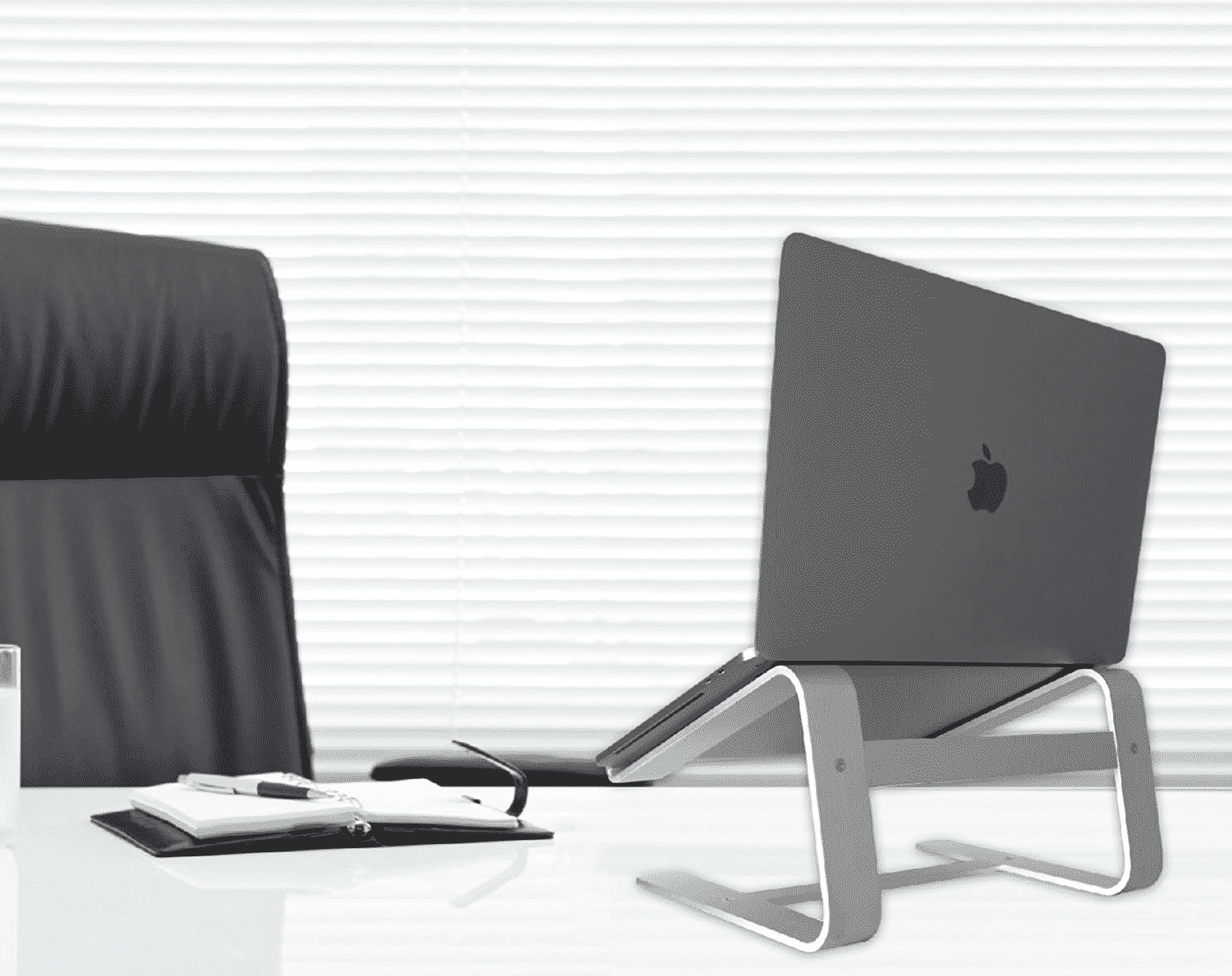 Macally Aluminum Laptop Stand for Desk