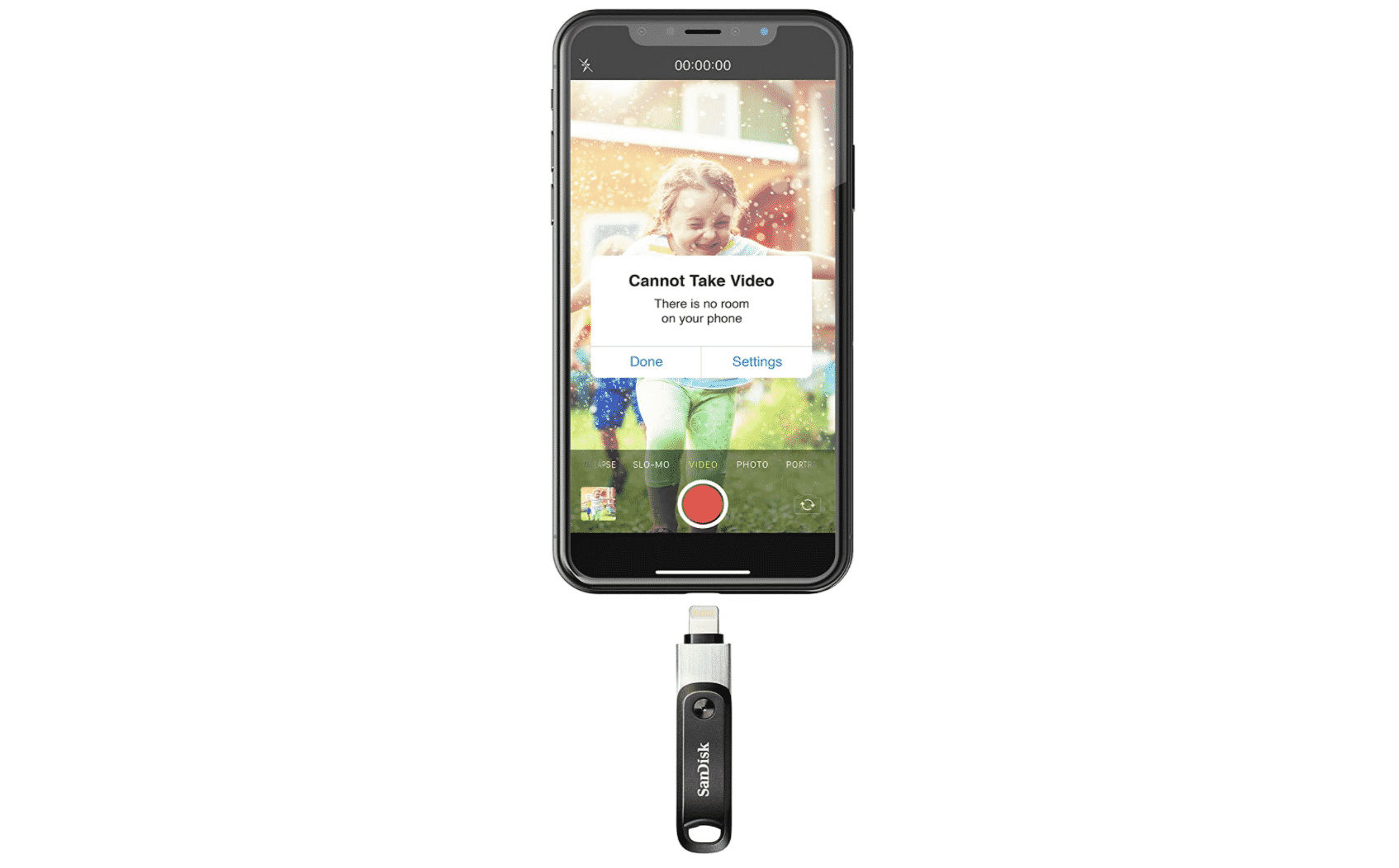 SanDisk 256GB iXpand Drive