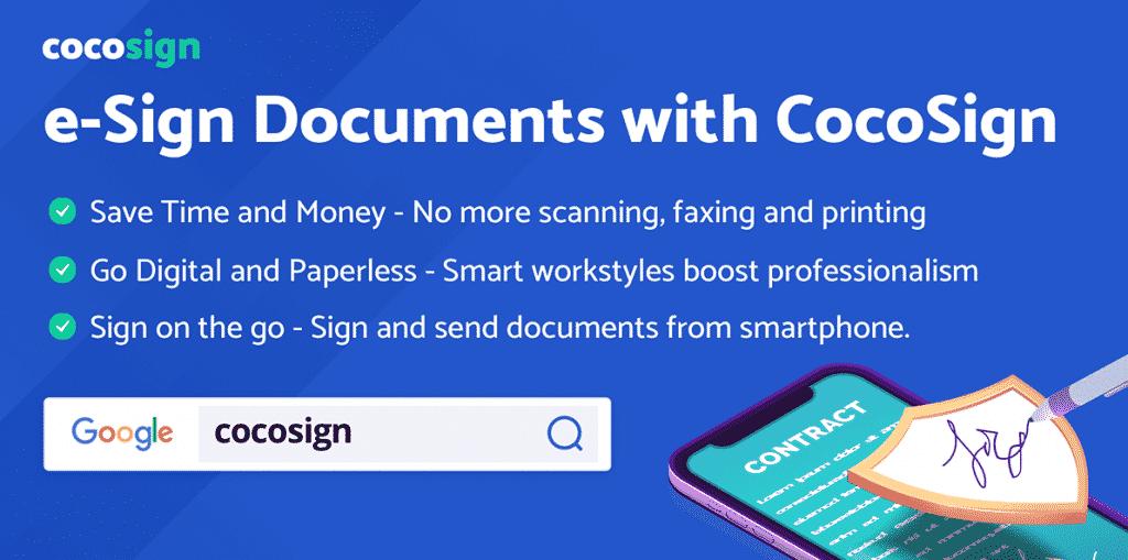Sign PDF Free Online with eSignature