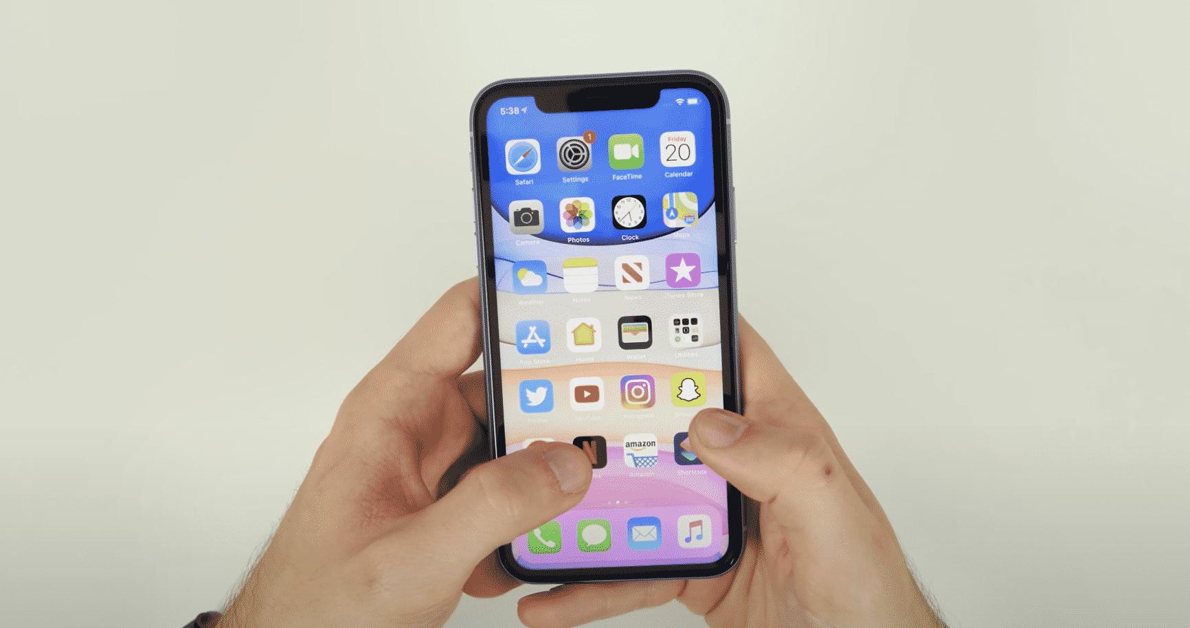 cómo hacer una captura de pantalla en iPhone 11 y iPhone 11 Pro