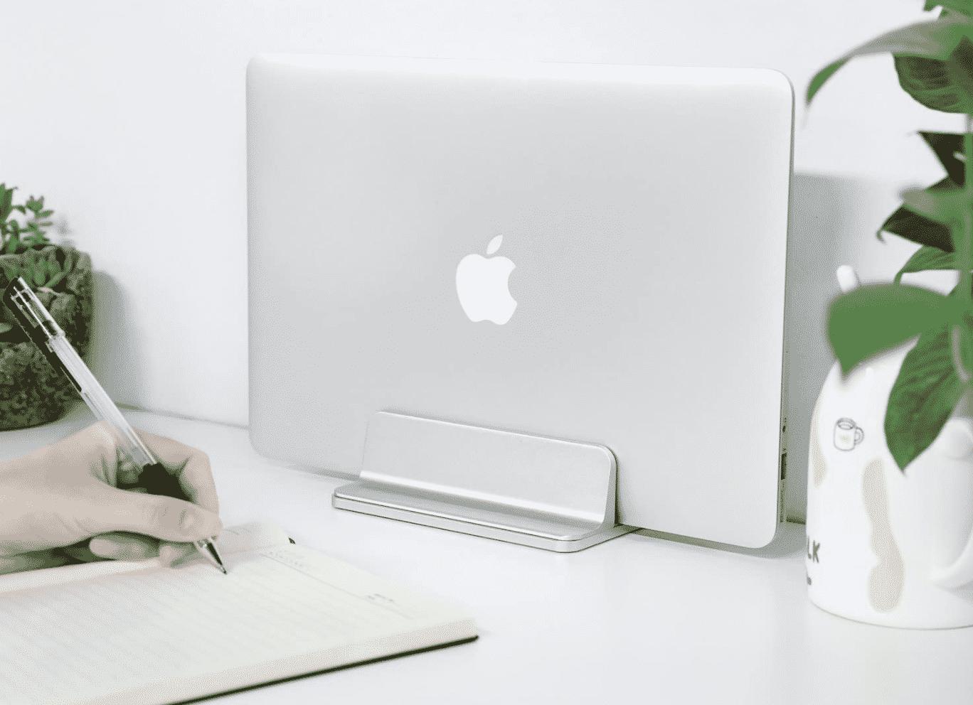 Vertical MacBook Stand