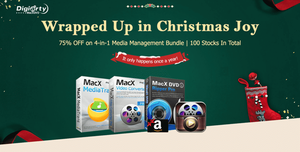 Get the MacX DVD Ripper Pro for Less with this Christmas Deal