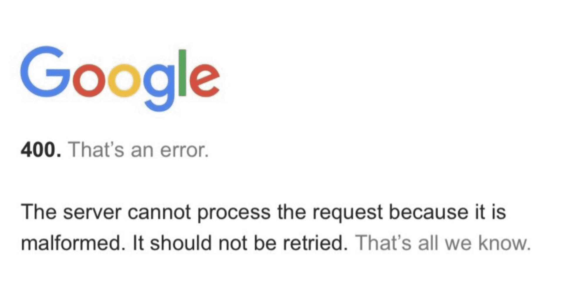 Google is down worldwide