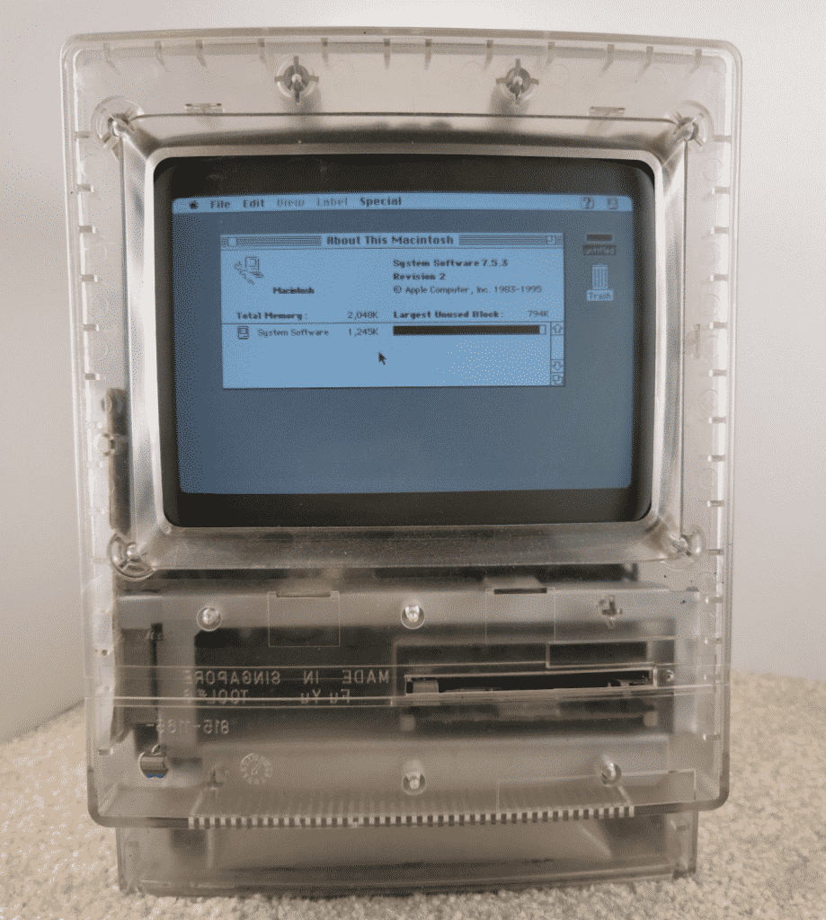 Prototype Apple Macintosh