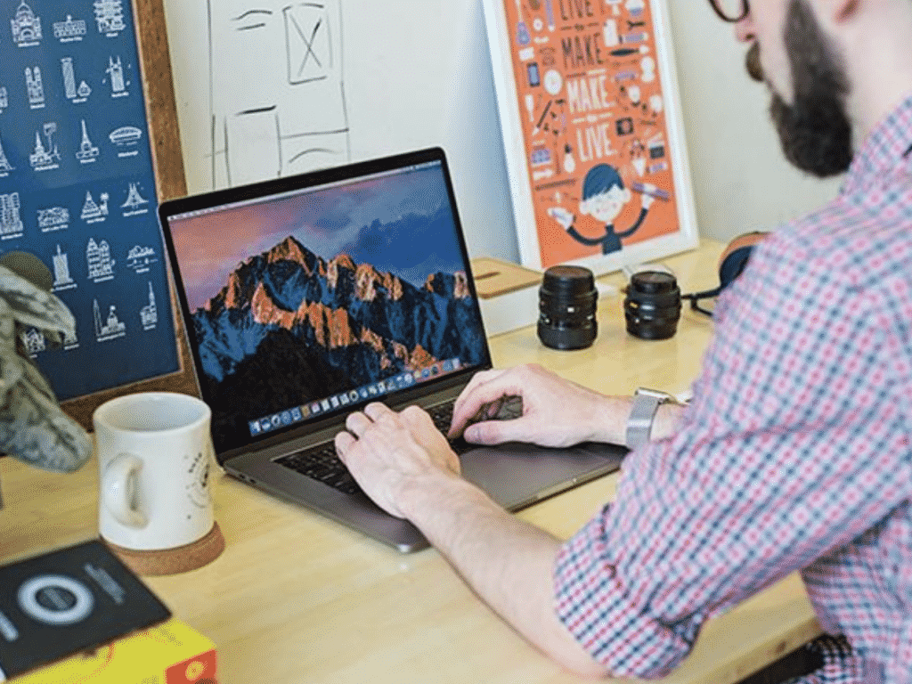 MultiDock on a Mac Computer