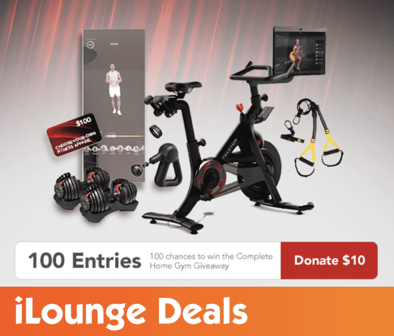 Peloton + Fitness Giveaway - Fundraiser