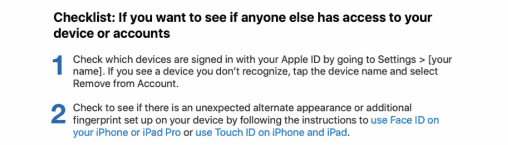 Apple releases data protection safety guide