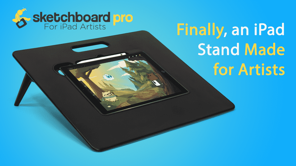 Sketchboard Pro: $119 Drawing Canvas for iPad