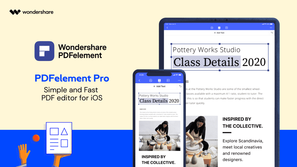 PDFelement Pro for iOS: The best software to edit PDF files on iOS devices
