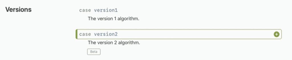 WatchOS 7.2 and iOS 14.3 algorithm