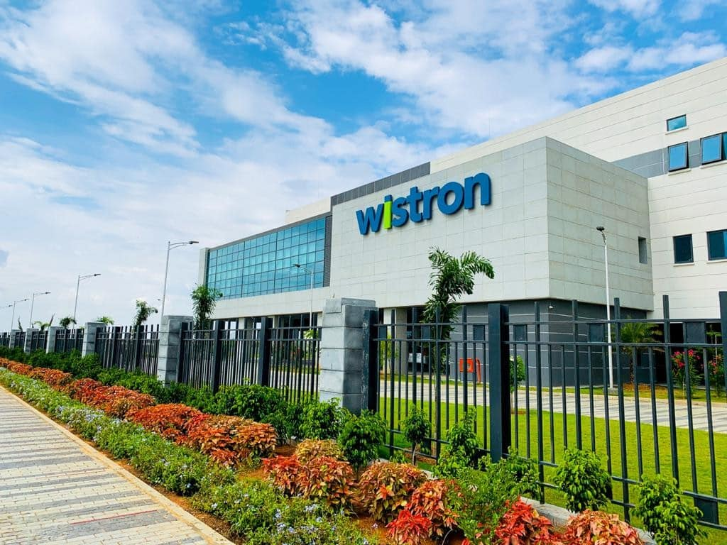 Wistron iPhone assembly plant in Kolar