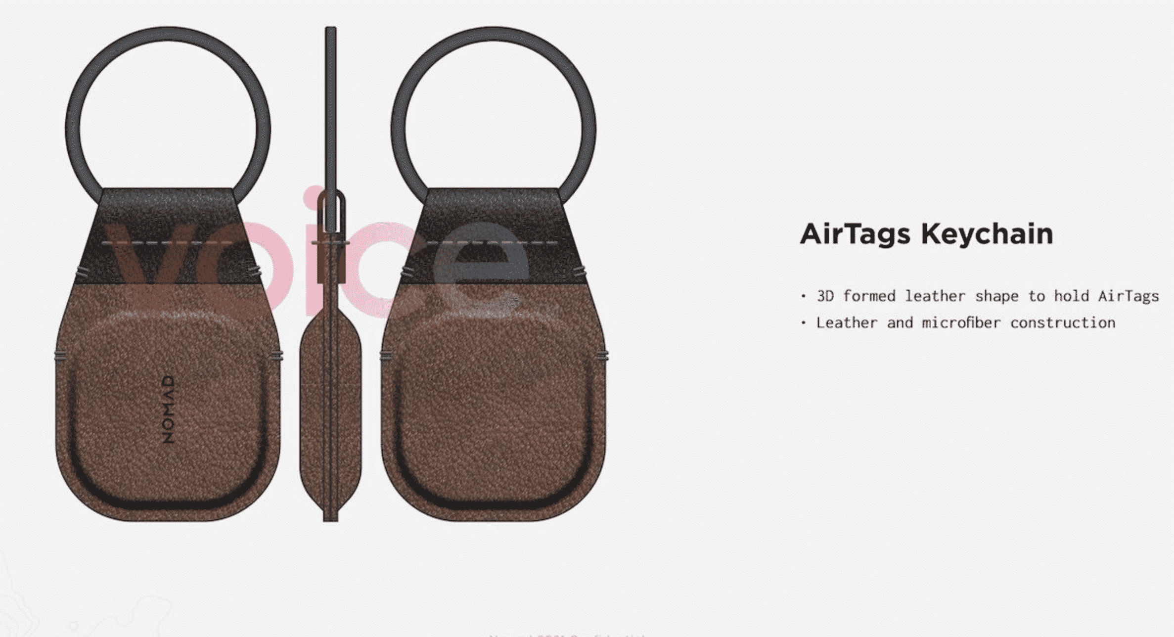 Nomad begins making AirTags accessories