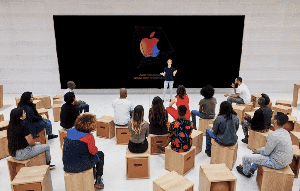 Today at Apple resumes in Singapore, Japan, and Australia
