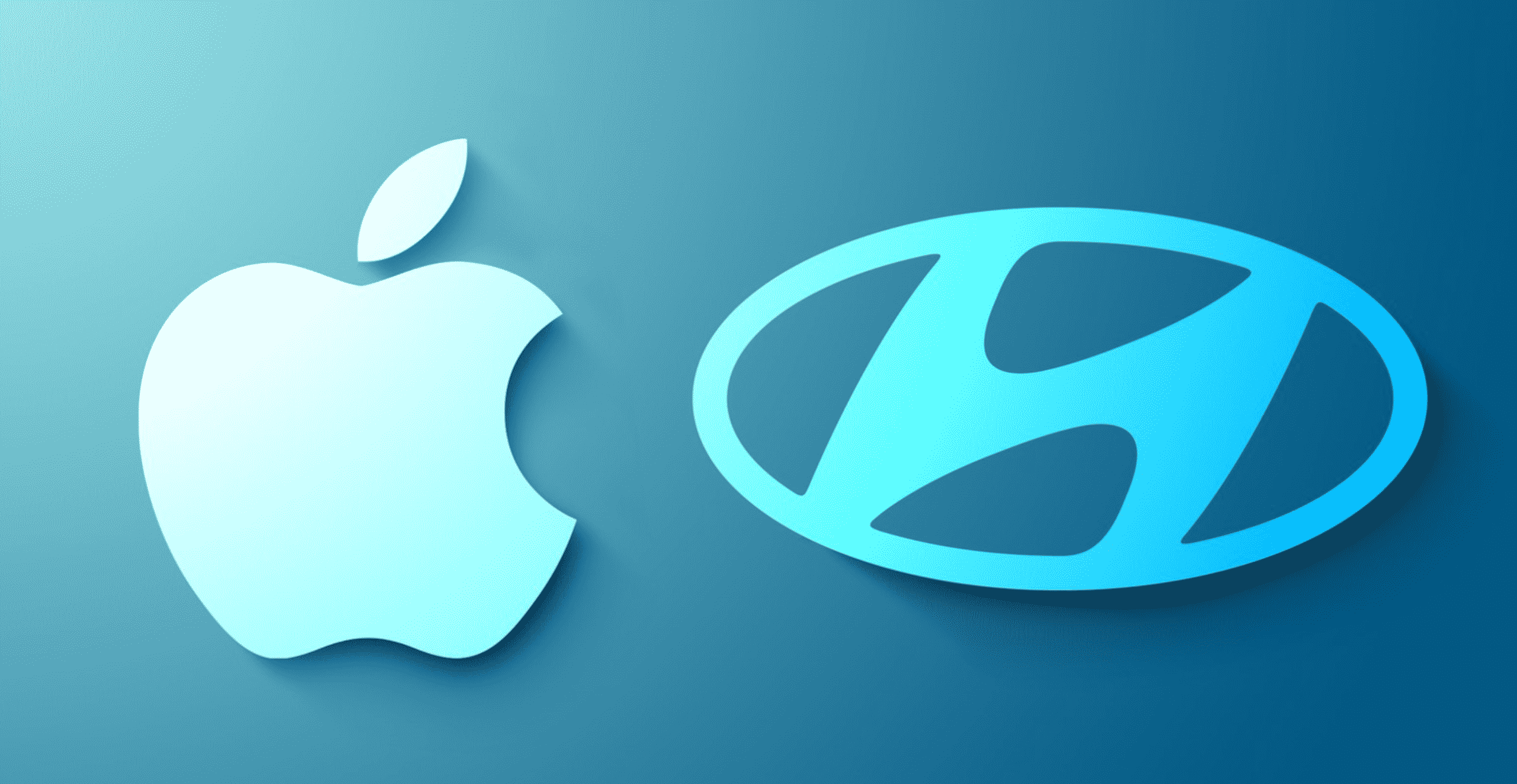 Apple and Hyundai