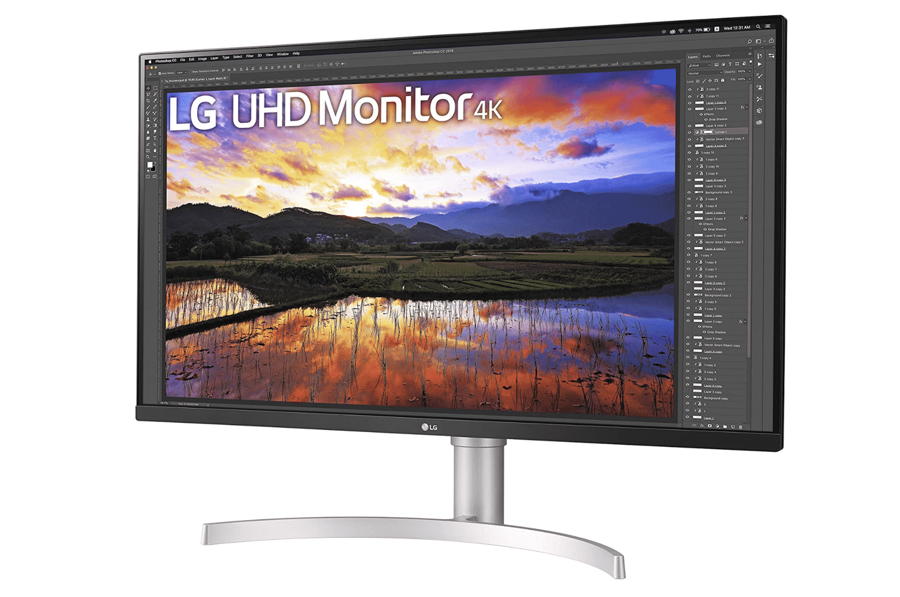 LG 32 inch UltraFine 4K Monitor