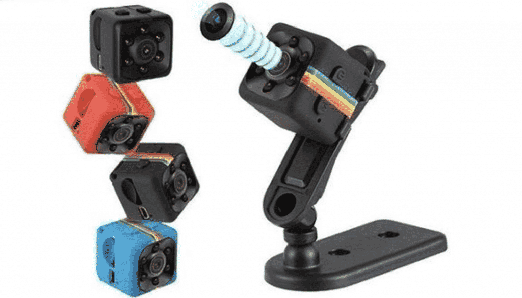 Mini House Camera in closeup