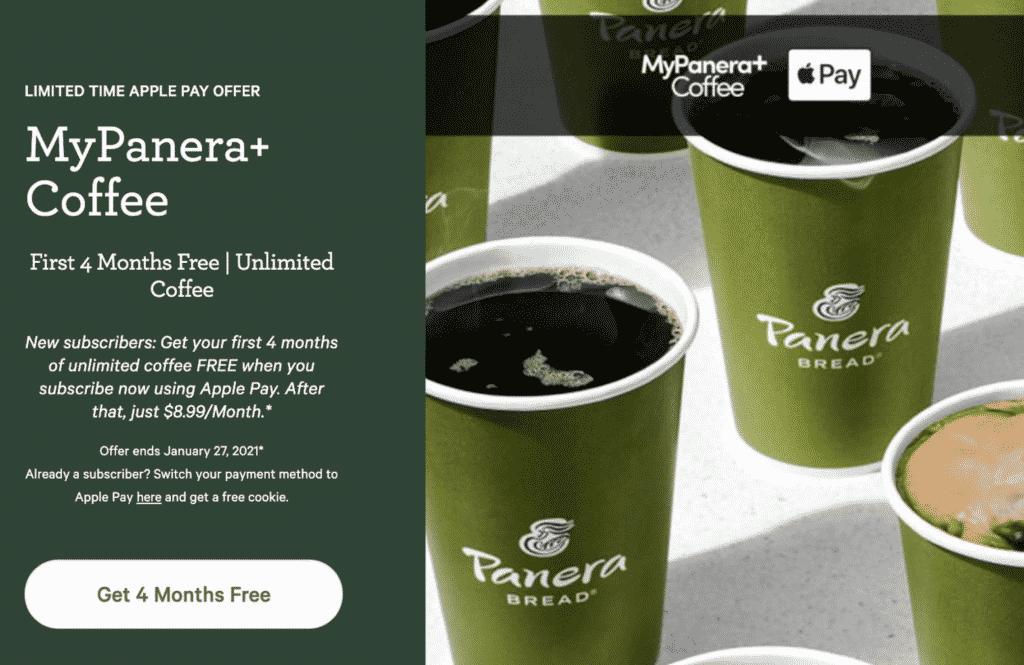 Panera Bread Promo