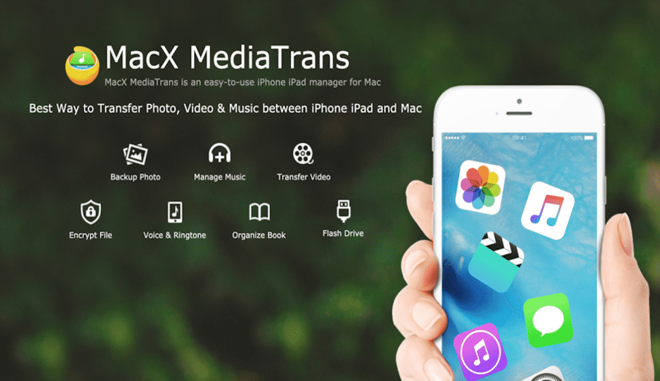 Transfer iPhone Videos, Photos, Music with MacX MediaTrans - Giveaway