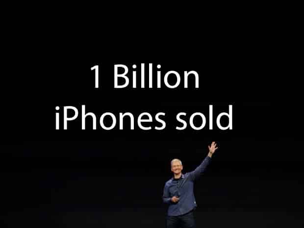 Billionth iPhone sold