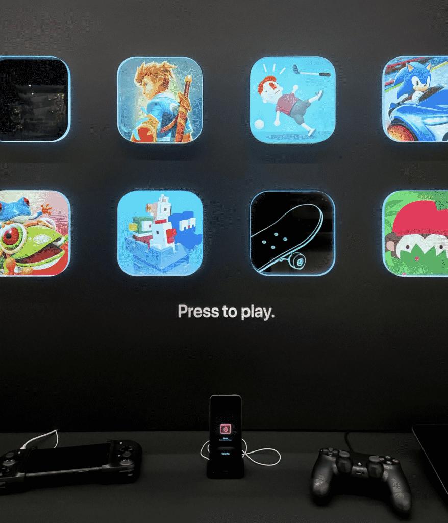 Apple Arcade demos