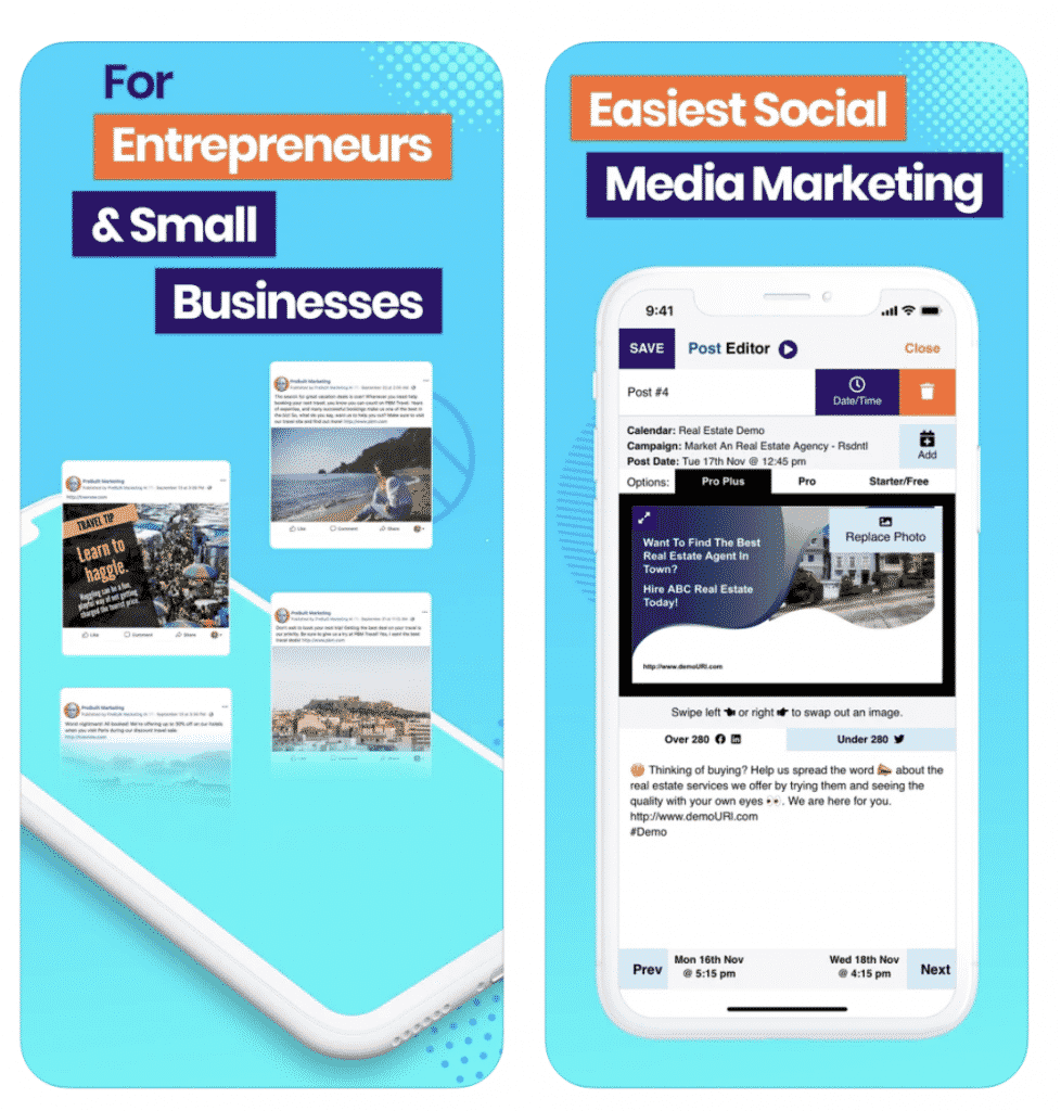 AIMIsocial with information about marketing and business