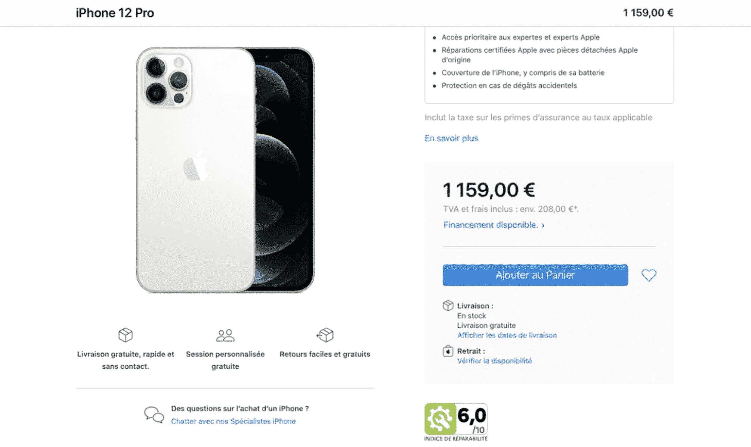 Apple France website