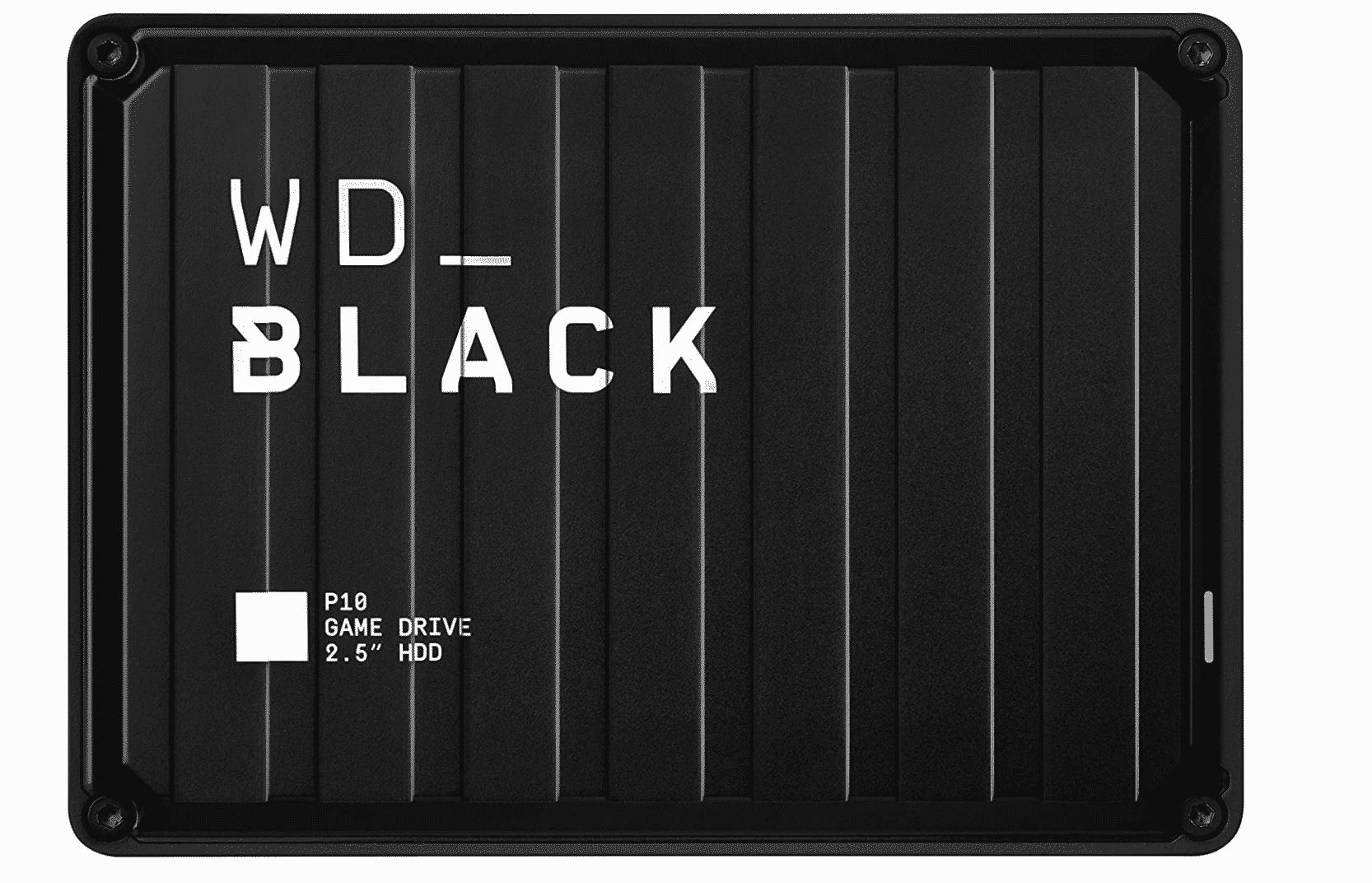 Black 2TB P10 Game Drive