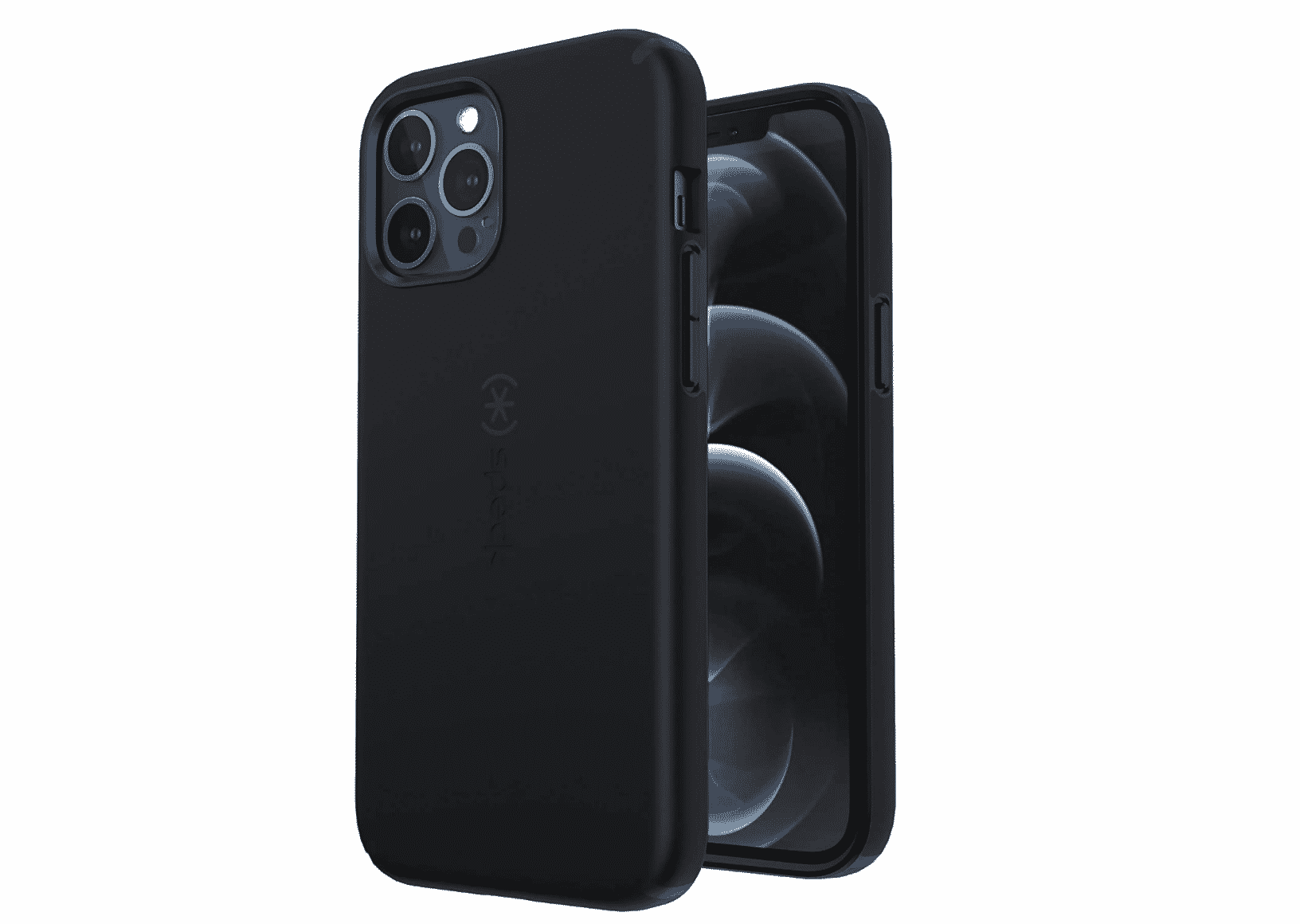 Speck Products CandyShell Pro iPhone 12 Pro Max Case Black/Black