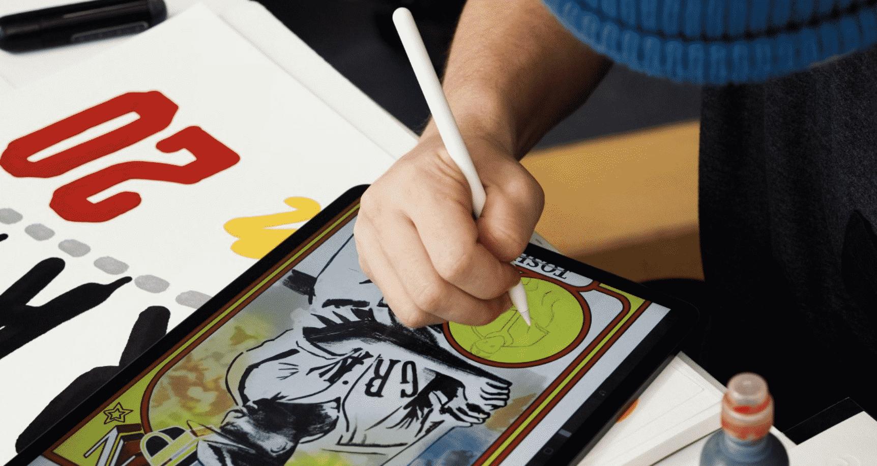 Apple Pencils and iPad Pros