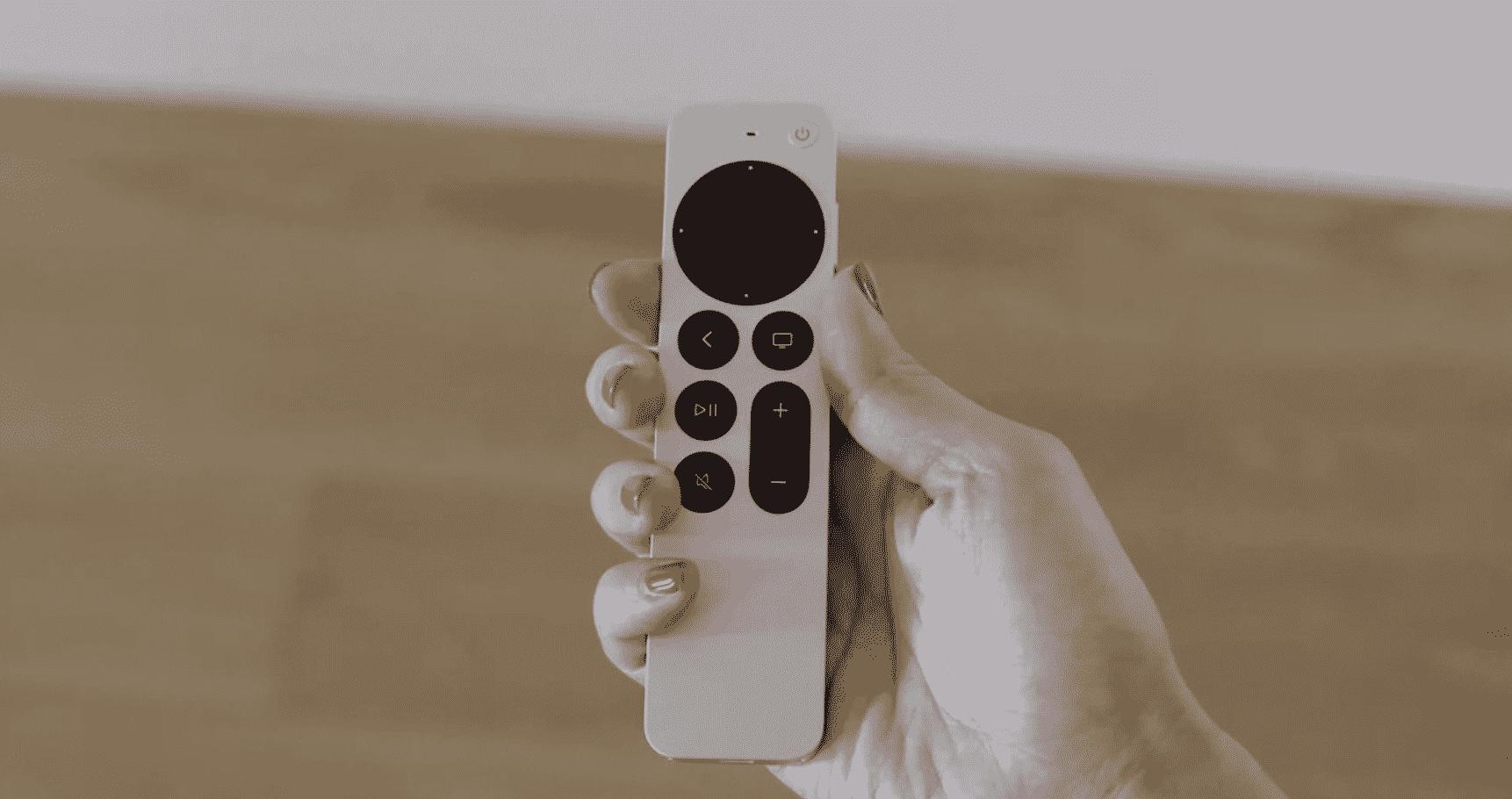Apple TV 4K Remote