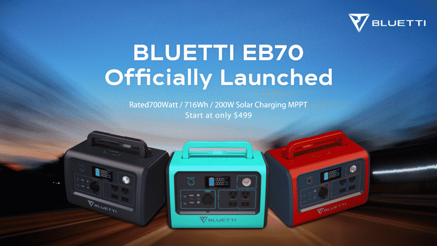 The EB70 by Bluetti Packs a Portable Power Punch For Your Energy Needs On The Go