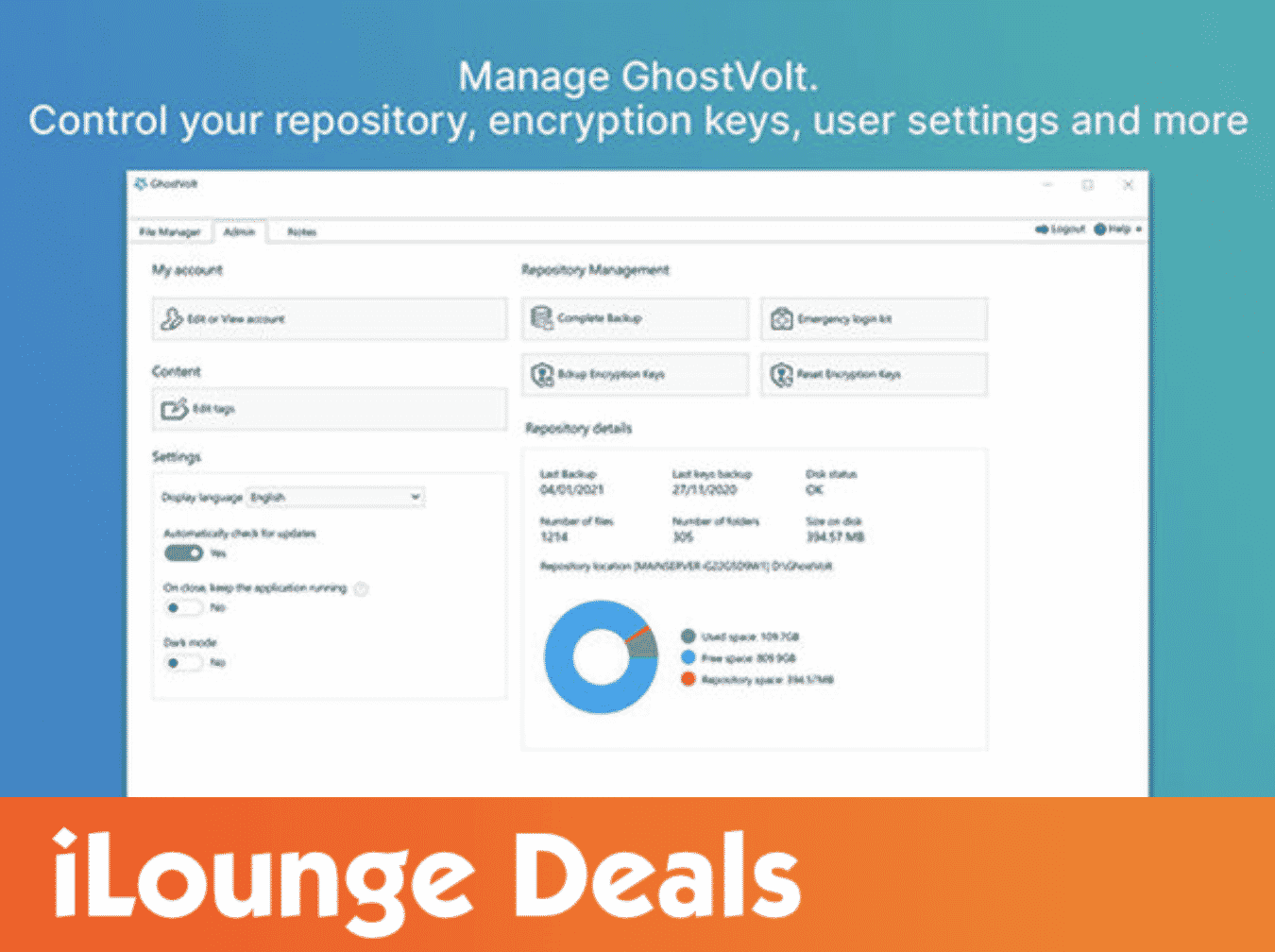 GhostVolt Encryption Software