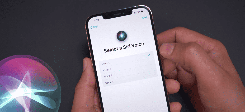 New Siri Voices