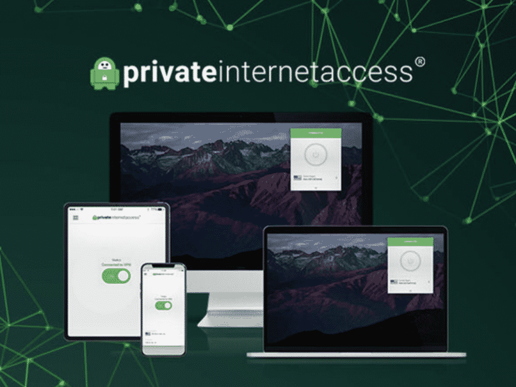 Private Internet Access VPN subscription on mac and iOS devices