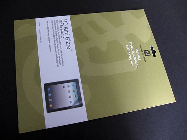 First Look: Power Support HD Anti-Glare Film for iPad 2