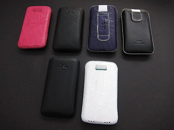 First Look: DC Cases Luxury Leather Cases for iPhone 4 + iPad