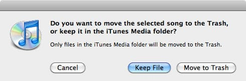 iTunes library and Music Folder are different sizes
