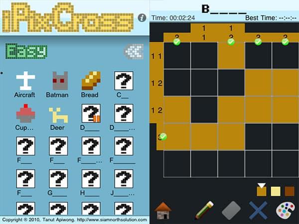 iPhone + iPad Gems: Doki Doki Bloki, iPixCross, MosaicLogic, PicGrid + Pixelogic Picross Enhanced